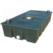 250 Gallon Low Profile Water Hauling Tank