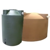 rainwater collection barrels