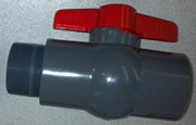 "2"" PVC Ball Valve & Nipple Kit"