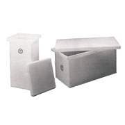 Ronco Polyethylene Open Top Rectangular Tanks