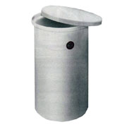 Ronco 55 Gallon Polypropylene Cylindrical Tank