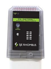 PS Patrol 120V, 120V alarm, no pump switch&#59; 20' SJE SignalMaster®, with mounting post