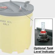 Optional Level Gauge for 1000 Gallon Waste Oil Tank