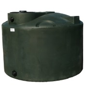 550 Gallon Green Plastic Water Tank
