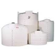 2000 Gallon White Plastic Water Tank