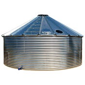 Steel Rain Harvesting Tanks