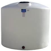 1350 Gallon Vertical Poly Storage Tank
