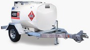 260 Gallon ABBI Refueler Double Walled Fuel Storage Tank and Trailer